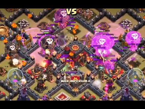 Clash of Clans New attack strategy lava and balloon no Minion 3 stars