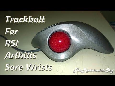 Thumb Trackball Mouse Ergonomics- Reviewing Logitech Trackman Wheel