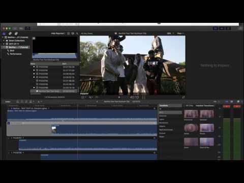 How I EDIT Rap / Hip-hop Music Videos | Final Cut Pro X