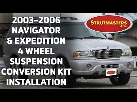 How to Install Air Suspension Kits on a 2003-2006 Expedition & Navigator