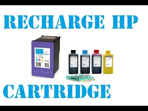 How to recharge Hp Cartridge