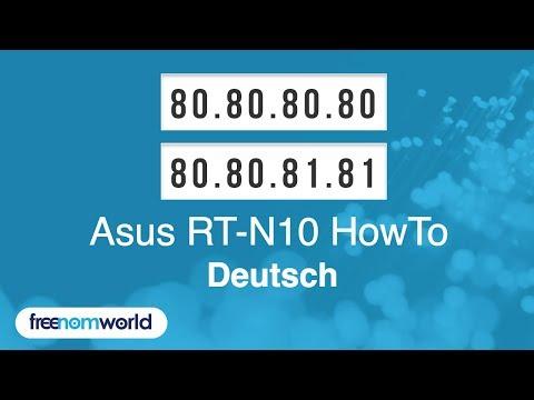 Freenom World Asus RT-N10 HowTo (German)