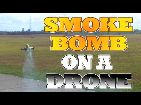How To Add a Smoke Bomb To A Drone. Make the Drone Mod.