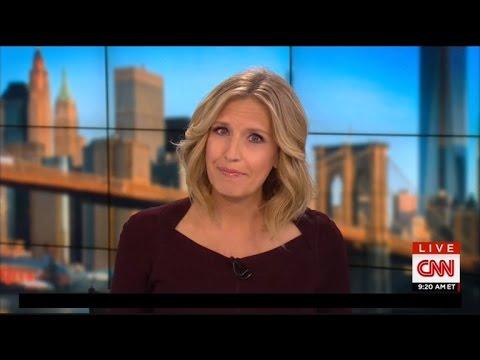Pregnant CNN Anchor Poppy Harlow Faints Mid-Broadcast