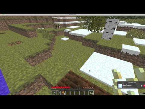 Minecrat how to make a Snow Golem tutorial