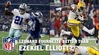 Leonard Fournette: Better than Ezekiel Elliott?   NFL Total Access