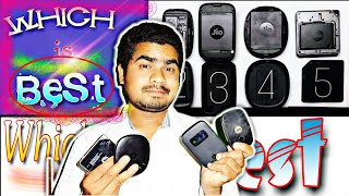 JioFi Hotspot JMR815 Unboxing and Review in Hindi (JioFi
