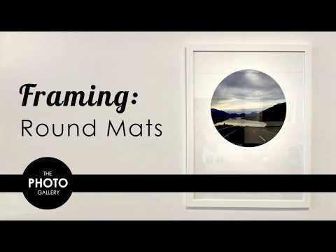 TPG Framing - Round Mats