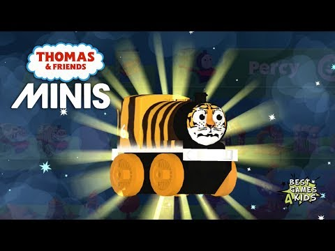 Unlock ANIMAL TIGER PERCY & THE WITCH'S LAIR Train Set | Thomas & Friends Minis #87 By Budge Studios