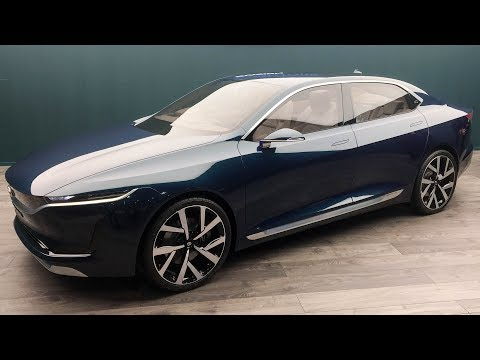 Tata E Vision Sedan Concept - World Exclusive   MotorBeam