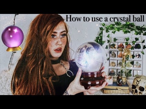 How to use a crystal ball // & Scrying, Enchanted Endeavours EP. 19