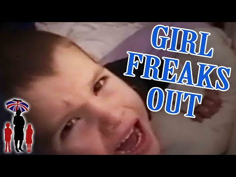 Supernanny | Girl Freaks Out & Hits Brother