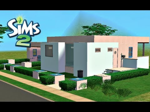 ♢ Modern & Simple Home ♢ The Sims 2 ♢