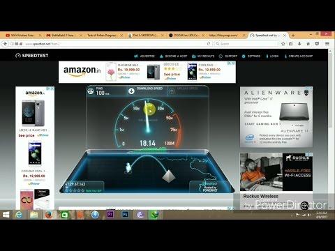 How to do Speed Test in PC {ookla speedtest.net}