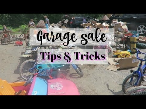 Garage Sale Tips and Tricks | How To Make More Money