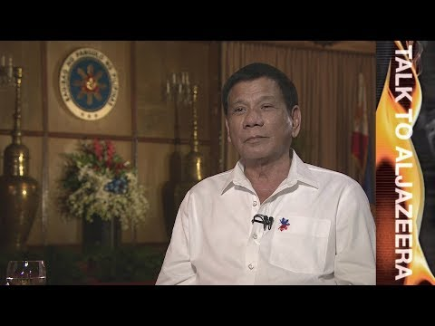 Rodrigo Duterte interview: Death, drugs and diplomacy - Talk to Al Jazeera