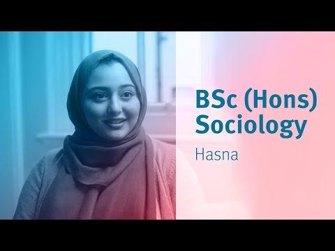 City, University of London: Third year student - BSc (Hons) Sociology