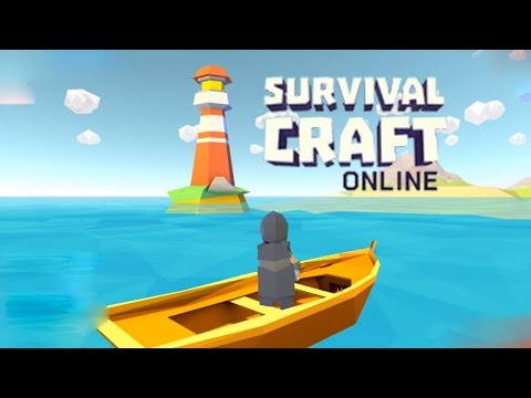 Survival Craft Online - Making Boat & Visiting Unknown Island Android