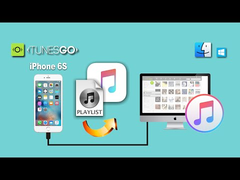 How to Sync All Purchased or Not Purchased Songs from iPhone 6S to iTunes On Mac, Windows