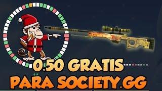 0.50 GRATIS EN SOCIETY.GG   Web de apuestas con skins de CS GO +18