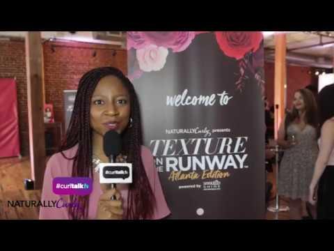 Gerilyn Goes to Texture on The Runway Atlanta! | CurlTalk TV