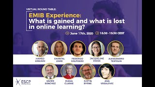 [#Webinar] EMIB Experience: What is gained and what is lost in Online Learning