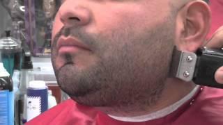 PART 2 [ HERM THE BARBER ] BEARD LINE UP BEARD TRIM STRAIGHT RAZOR SHAPE UP