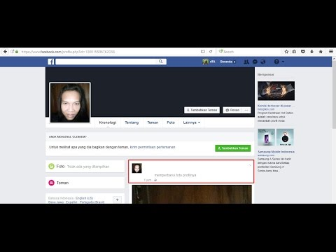 How To Create Blank Original Facebook Name February 2017 | Cara Membuat Facebook Blank Ory