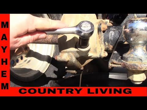 Kawasaki front/rear diff and oil change