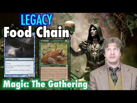 MTG - How To Build Legacy Food Chain - A Combo / Control Deck for Magic: The Gathering
