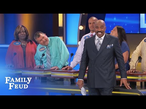 Pastor won't get SUCKERED!!! | Family Feud