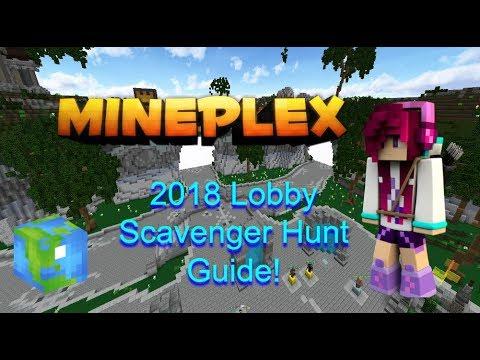 Mineplex Lobby All 60 Globes Scavenger Hunt Guide! [Walk through Tutorial] [2018]