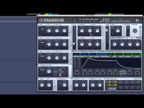 How To Make... A Deep House Bass With Massive
