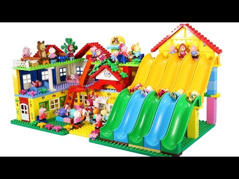 Peppa Pig Building Lego House Toys For Kids - Lego House Creations Toys #2