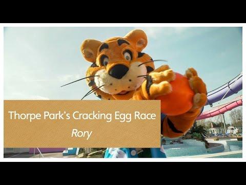 Thorpe Park's Cracking Egg Race - Rory