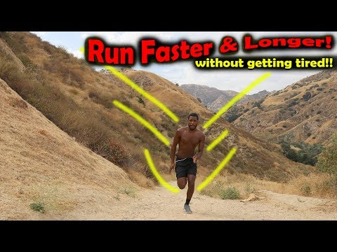 How to Run Faster and Longer without Getting Tired: Hill Work!