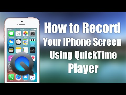 [iOS 9.3.2] How to Record Your iPhone's Screen using QuickTime Player NO JAILBREAK