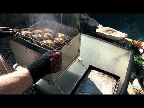 Chicken on the Flip Flop Grill