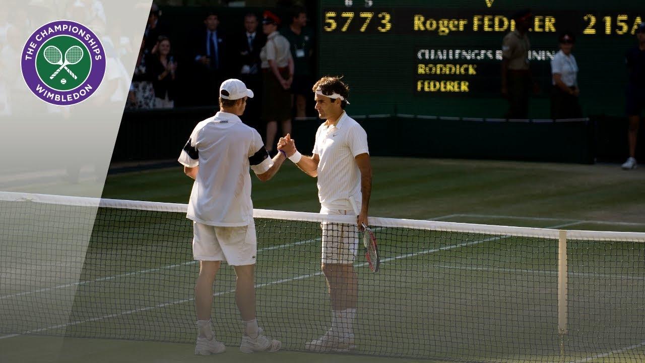 Roger Federer vs Andy Roddick: Wimbledon Final 2009 (Full Match)