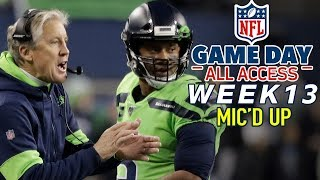 "NFL Week 13 Mic'd Up, ""I run scared so I'm fast enough!"""
