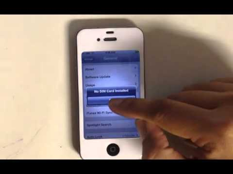 How to configure Picture Messaging MMS on Simple Mobile on your iPhone 4 or 4S