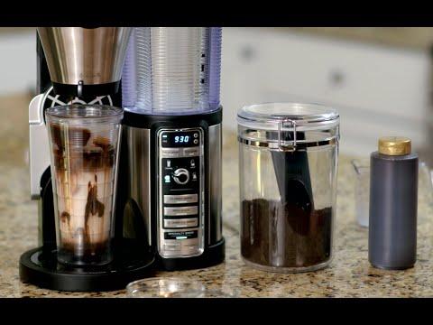 Making an Iced Mocha Latte with the Ninja Coffee Bar™