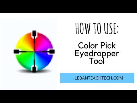 HOW TO: Use the Color Pick Eyedropper Extension on Chrome