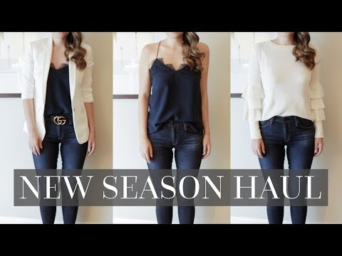 TRY-ON FALL / AUTUMN HAUL | NORDSTROM, SHOPBOP, REVOLVE