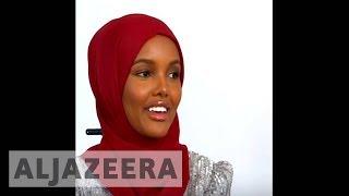 Hijabi supermodel