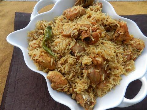 Kerala Style Pressure Cooker Chicken Biriyani