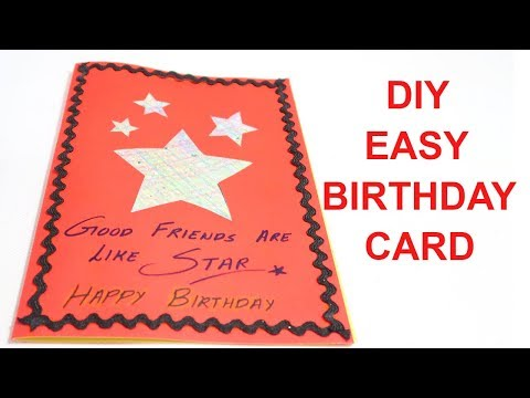 BIRTHDAY CARD | CARD MAKING | NEW YEAR CARD | CHRISTMAS CARD | CARD FOR FRIEND | CREATIVE MOM TANU