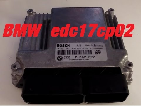 Reading BMW EDC17cp02 in tricore boot mode