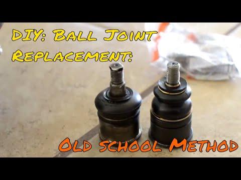 DIY: Replacing Balljoints- The Old School Way!