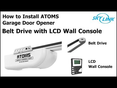 Atoms+ Belt Garage Door Opener Installation